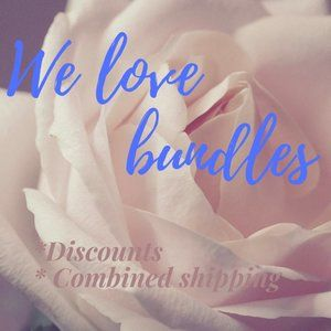 We love bundles. Better Value. Combined Shipping.